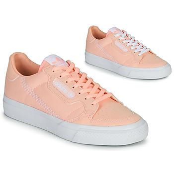 Sko Pige Lave sneakers adidas Originals CONTINENTAL VULC J Pink