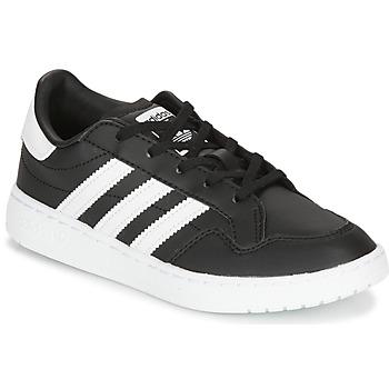 Sko Børn Lave sneakers adidas Originals Novice C Sort / Hvid