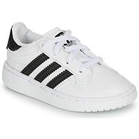 Sko Børn Lave sneakers adidas Originals NOVICE EL I Hvid / Sort