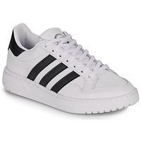 Sko Børn Lave sneakers adidas Originals Novice J Hvid / Sort