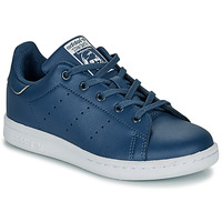 Sko Dreng Lave sneakers adidas Originals STAN SMITH C Blå