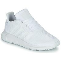 Sko Dreng Lave sneakers adidas Originals SWIFT RUN C Hvid