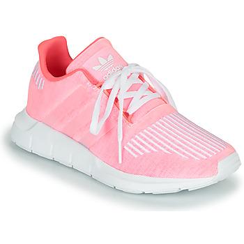 Sko Pige Lave sneakers adidas Originals SWIFT RUN J Pink