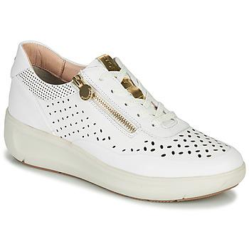 Sko Dame Lave sneakers Stonefly ROCK 10 Hvid