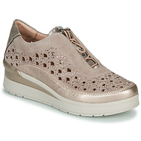 Sko Dame Lave sneakers Stonefly CREAM 22 Beige / Guld