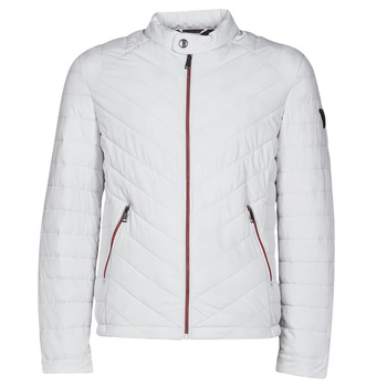 textil Herre Dynejakker Guess SUPER FITTED JKT TRAVEL Hvid