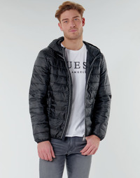 textil Herre Dynejakker Guess SUPER LIGHT ECO-FRIENDLY JKT Sort