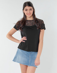 textil Dame Toppe / Bluser Guess ALICIA TOP Sort