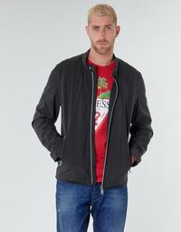 textil Herre Jakker Guess CUMMUTER JACKET Sort