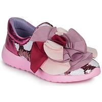 Sko Dame Lave sneakers Irregular Choice RAGTIME RUFFLES Pink