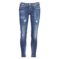 textil Dame Smalle jeans Le Temps des Cerises PULP SLIM 7/8 Blå