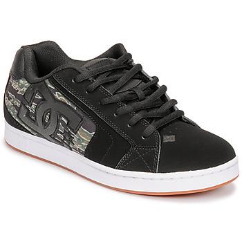 Sko Herre Lave sneakers DC Shoes NET SE Sort / Camouflage