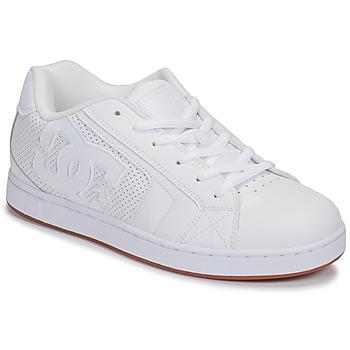 Sko Herre Lave sneakers DC Shoes NET Hvid