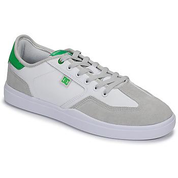 Sko Herre Lave sneakers DC Shoes VESTREY Hvid / Grøn