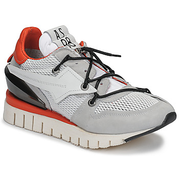 Sko Dame Lave sneakers Airstep / A.S.98 DENASTAR Hvid / Rød