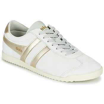 Sko Dame Lave sneakers Gola BULLET PEARL Hvid / Guld