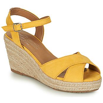 Sko Dame Sandaler Tom Tailor 8090105 Gul