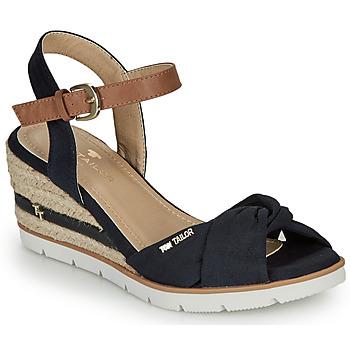 Sko Dame Sandaler Tom Tailor 8090403 Marineblå