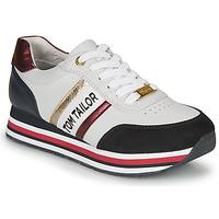 Sko Dame Lave sneakers Tom Tailor 8095504 Hvid / Blå / Rød