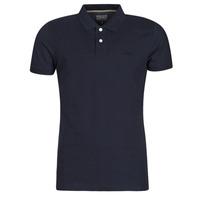 textil Herre Polo-t-shirts m. korte ærmer Esprit OCS PIQUE POLO SS Marineblå