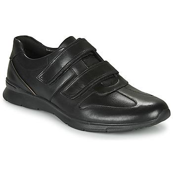 Sko Herre Lave sneakers Clarks UN TYNAMO TURN Sort