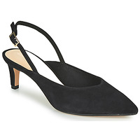 Sko Dame Højhælede sko Clarks LAINA55 SLING Sort