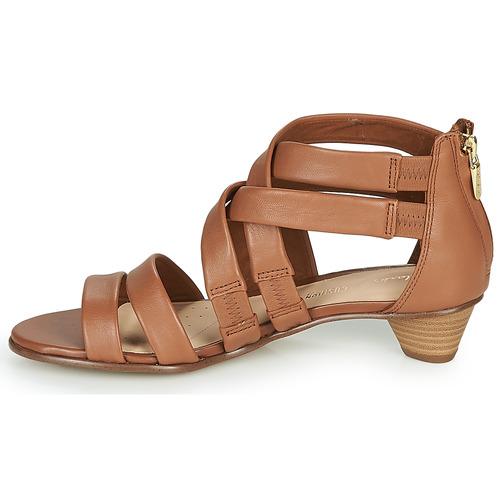 Clarks MENA SILK Kamel - Gratis fragt- Sko sandaler Dame 779,00