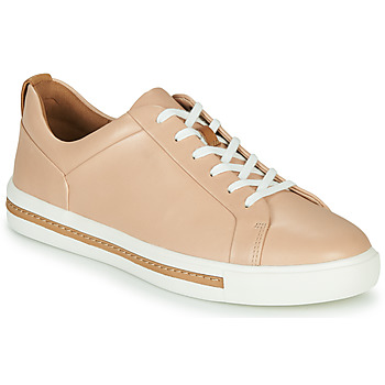 Sko Dame Lave sneakers Clarks UN MAUI LACE Pink