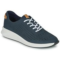 Sko Dame Lave sneakers Clarks UN RIO TIE Blå