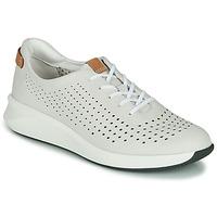 Sko Dame Lave sneakers Clarks UN RIO TIE Hvid