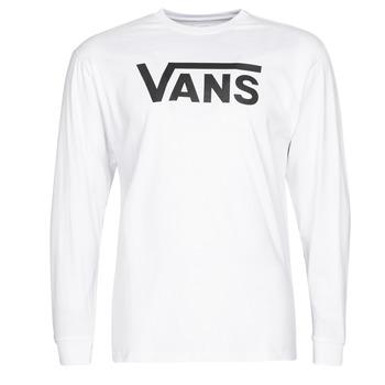 textil Herre Langærmede T-shirts Vans VANS CLASSIC Hvid