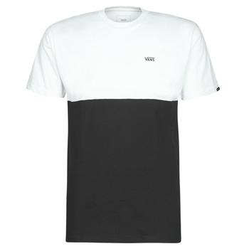 textil Herre T-shirts m. korte ærmer Vans COLORBLOCK TEE Sort / Hvid