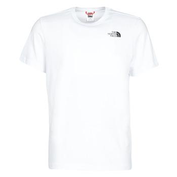 textil Herre T-shirts m. korte ærmer The North Face S/S REDBOX Hvid
