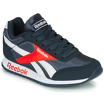 Sko Dreng Lave sneakers Reebok Classic REEBOK ROYAL CLJOG Marineblå / Rød