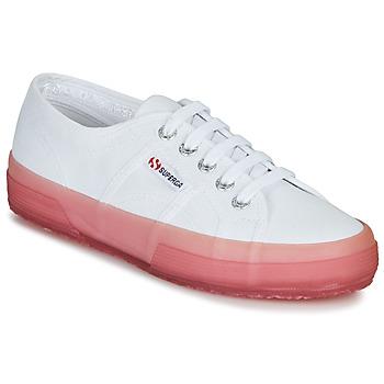 Sko Dame Lave sneakers Superga 2750-JELLYGUM COTU Hvid