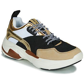 Sko Dame Lave sneakers Pepe jeans SINYU US Sort / Beige