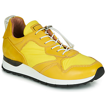 Sko Dame Lave sneakers Mjus CAST Gul