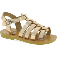 Sko Pige Sandaler Attica Sandals PERSEPHONE CALF GOLD-PINK oro