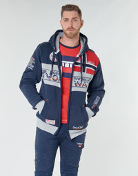 textil Herre Sweatshirts Geographical Norway FLYER Marineblå