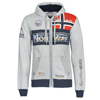 textil Herre Sweatshirts Geographical Norway FLYER Grå / Marmoreret