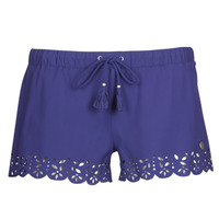 textil Dame Shorts Banana Moon MEOW Marineblå
