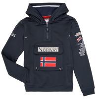textil Dreng Sweatshirts Geographical Norway GYMCLASS Marineblå