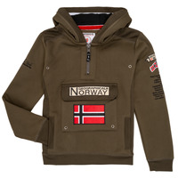 textil Dreng Sweatshirts Geographical Norway GYMCLASS Kaki