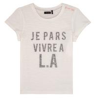 textil Pige T-shirts m. korte ærmer Ikks DARRIAL Hvid