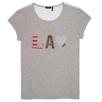 textil Pige T-shirts m. korte ærmer Ikks LILOUSH Grå