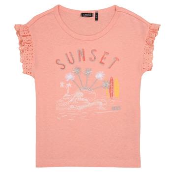textil Pige T-shirts m. korte ærmer Ikks POLIAK Orange