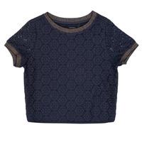 textil Pige Toppe / Bluser Ikks ASTRID Marineblå
