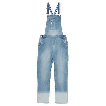 textil Pige Buksedragter / Overalls Ikks PERRINE Blå