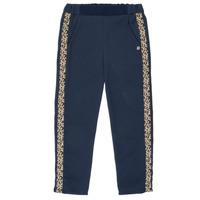 textil Pige Løstsiddende bukser / Haremsbukser Ikks NATHAN Marineblå
