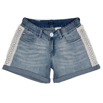 textil Pige Shorts Ikks ISAHA Blå
